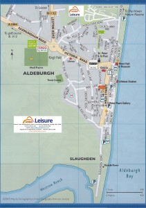Aldeburgh location map